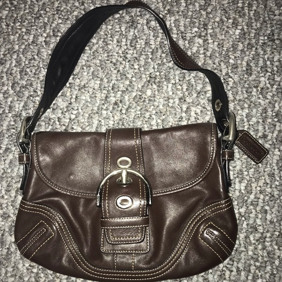 Coach Handbags - Authentic Coach Brown Leather Purse